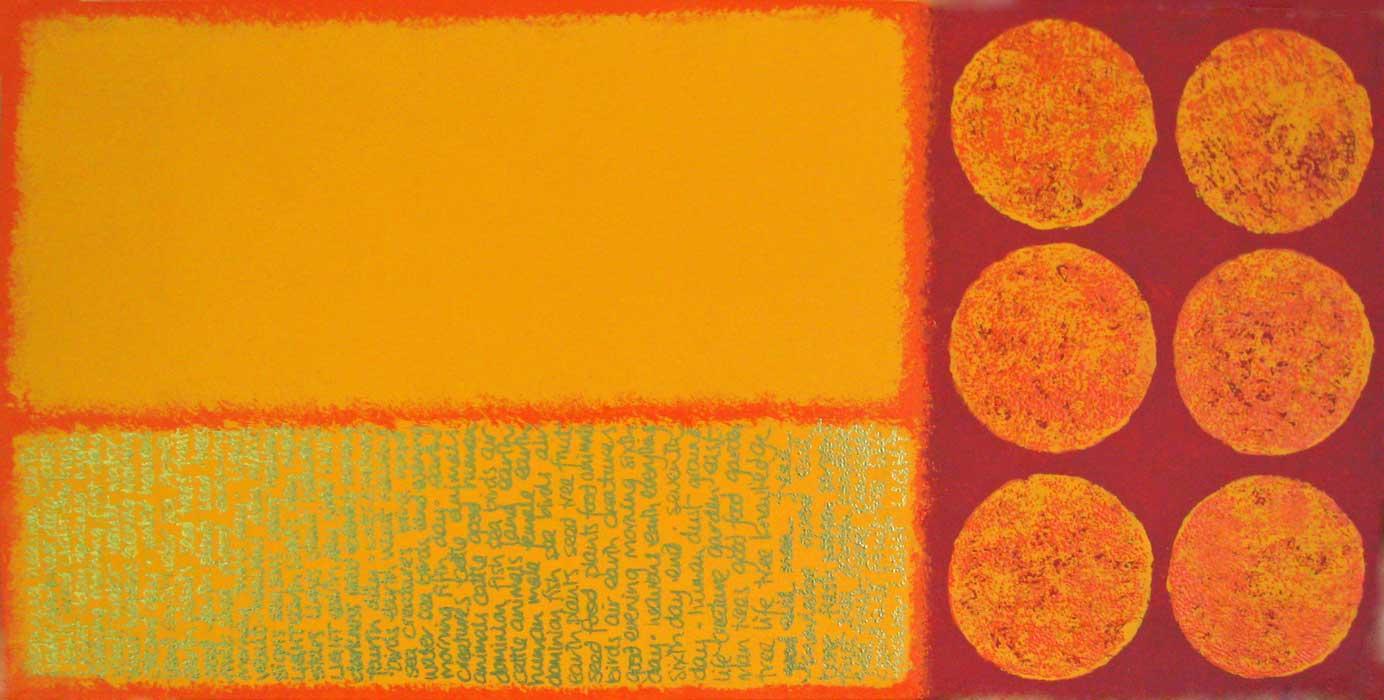 0040 Genesis - acrylic on canvas