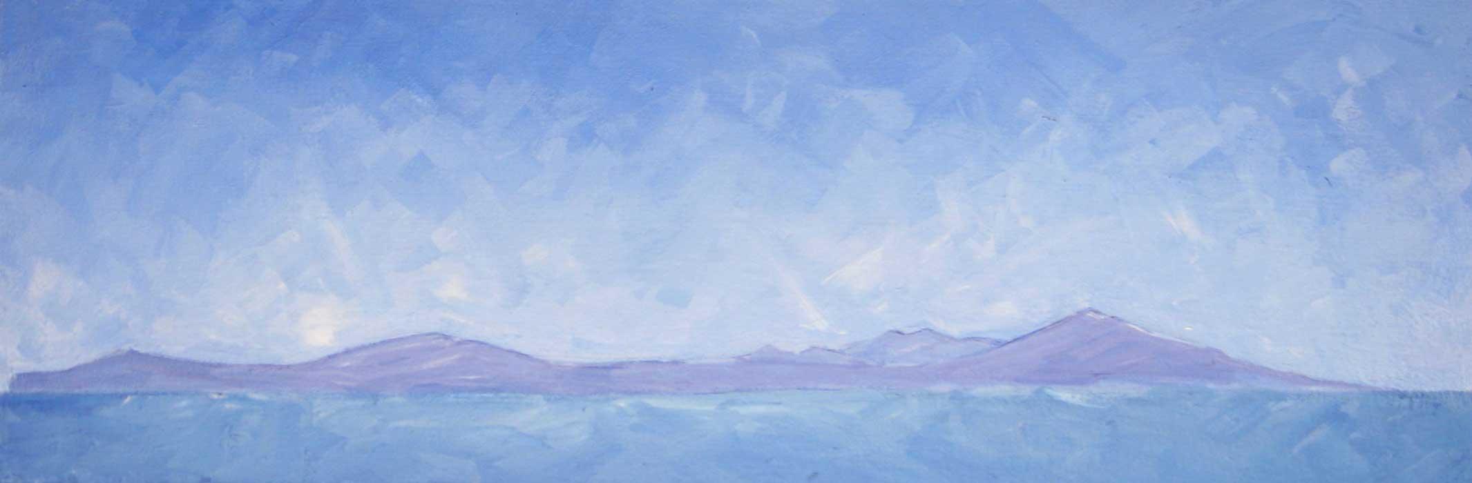 0064 earth sea sky #2 - paint