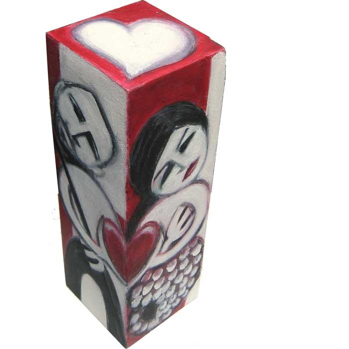 wedded - painted block