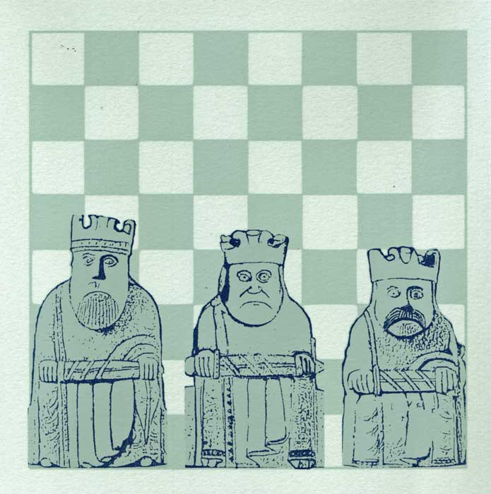 three wee kings - screenprint