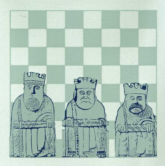 three wee kings - screenprint