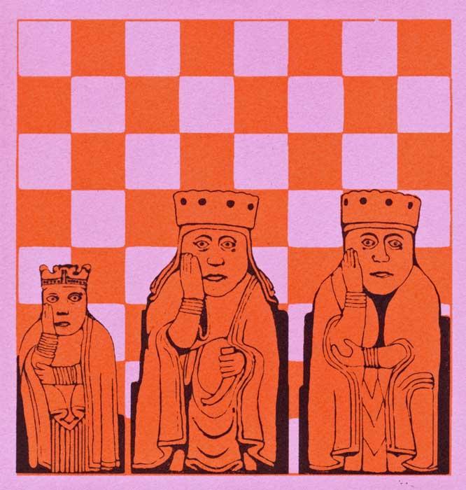 three wee queens - screenprint