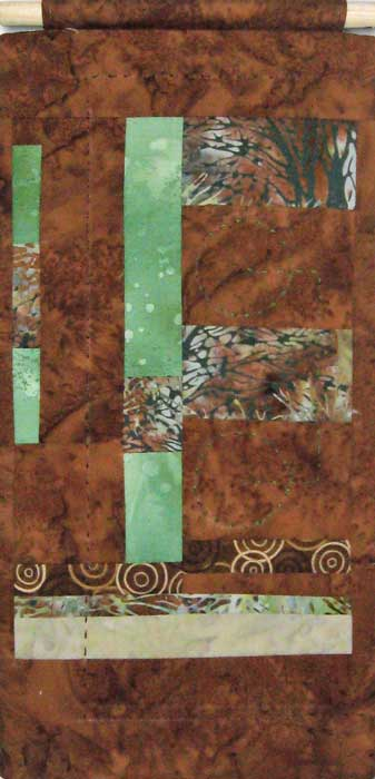 ritual landscape V - textile