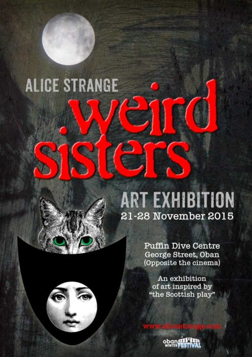 weird sisters exhibition